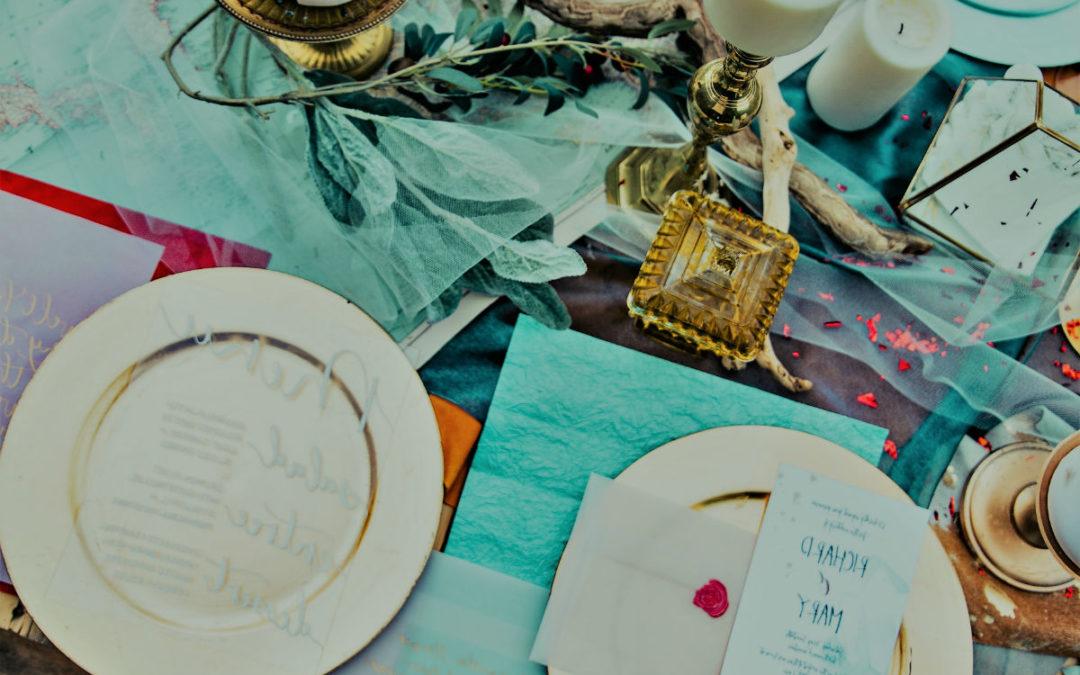 Le chemin de table, l'incontournable des mariages