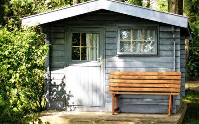 Restaurez votre abri de jardin