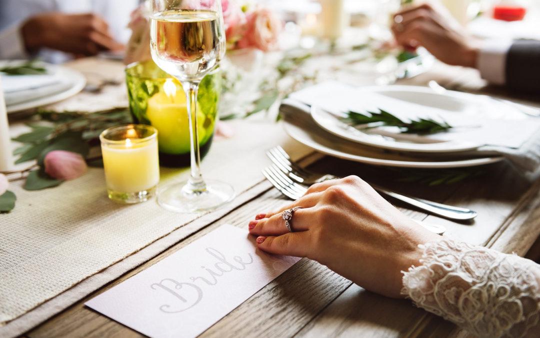 4 astuces pour une décoration de mariage à petit prix